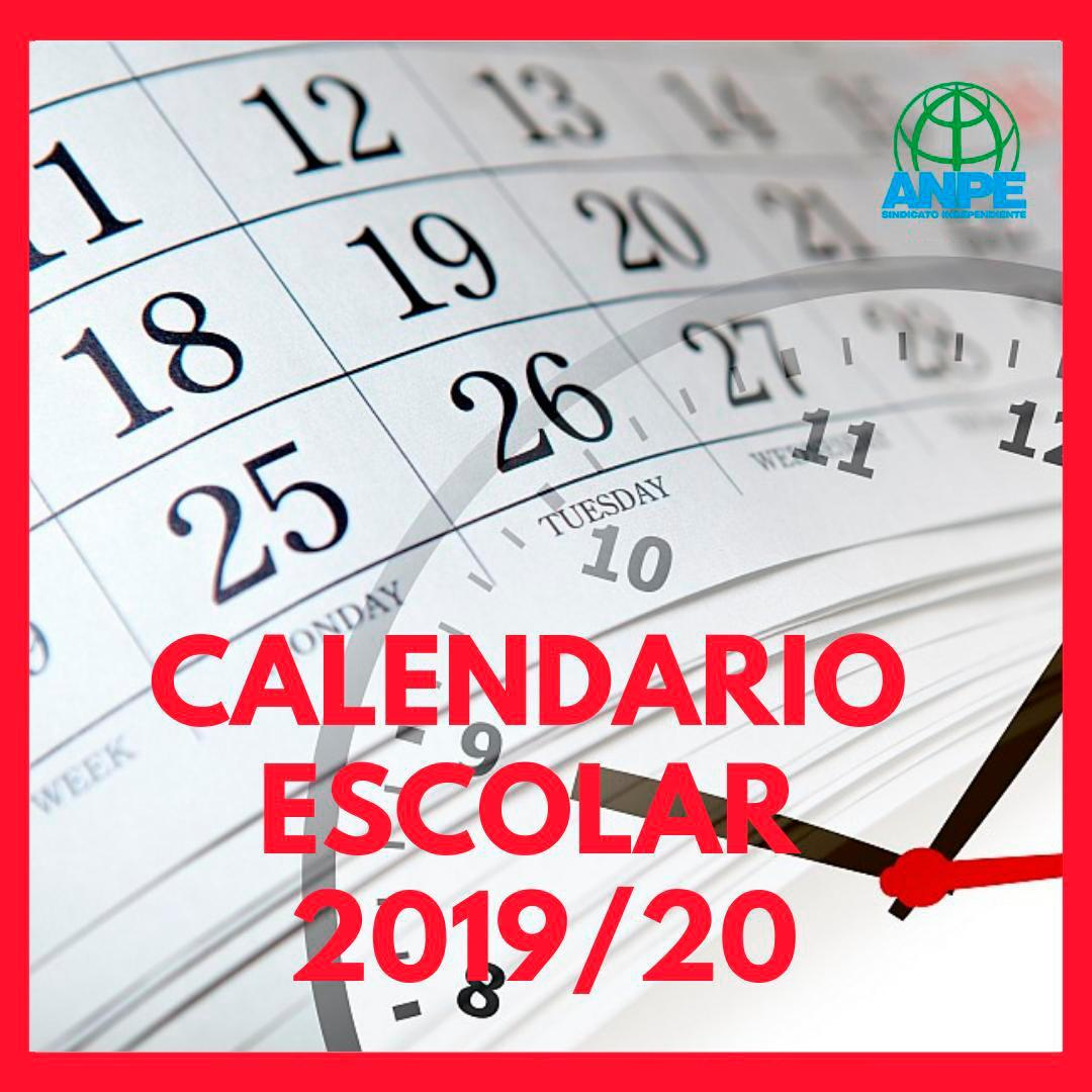 Calendario Escolar 2020 Valencia.Calendario Escolar 2019 2020 Descargalo Aqui Noticia